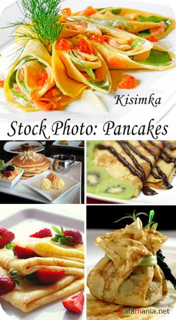 Stock Photo:  Pancakes