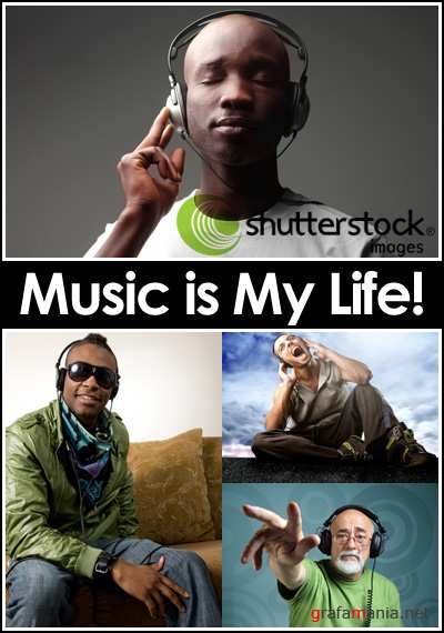 ShutterStock - Music is My Life