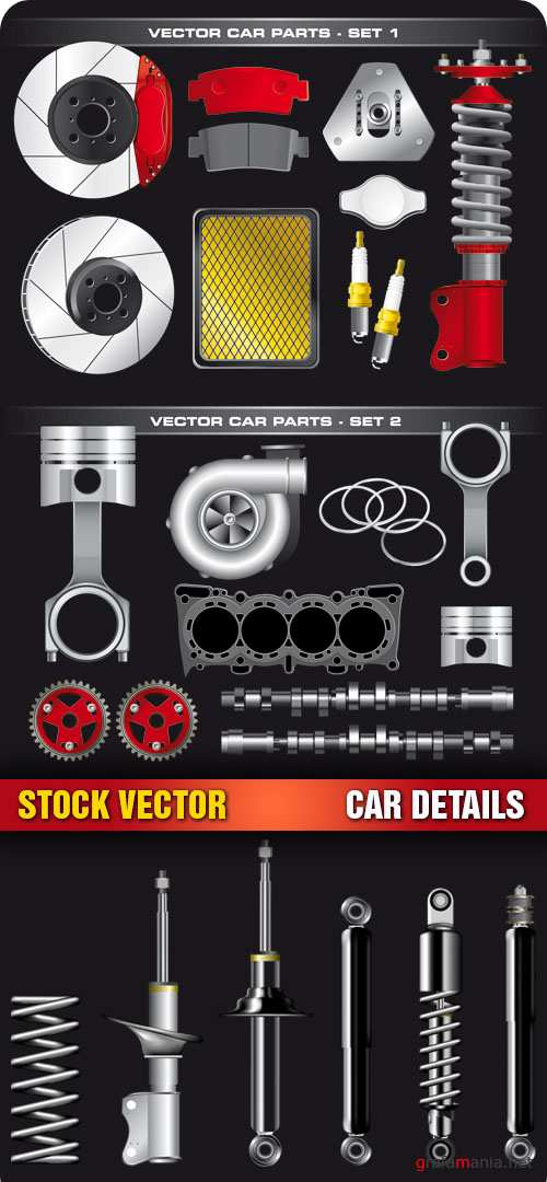 Stock Vector - Car Details