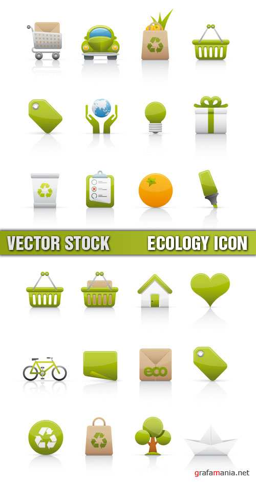 Stock Vector - Ecology Icon