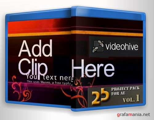 Videohive - 25 Project Pack for After Effects Vol.1