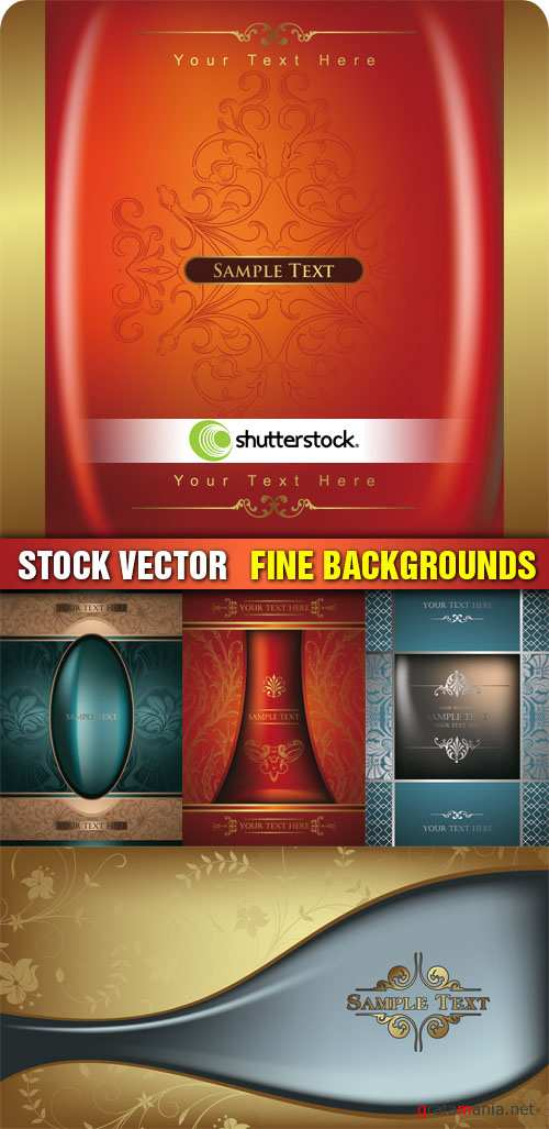 Stock Vector - Fine Backgrounds
