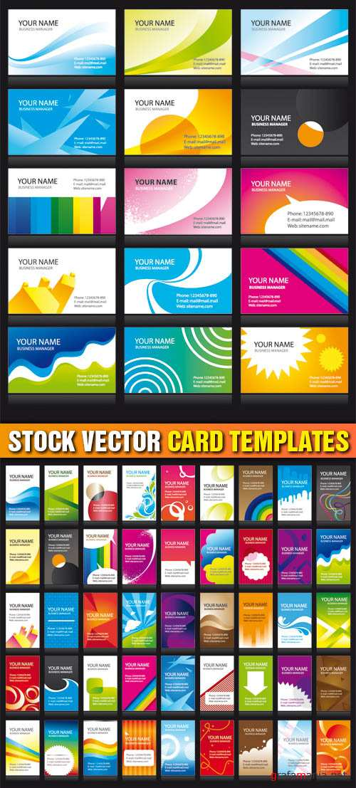 Stock Vector - Card Templates