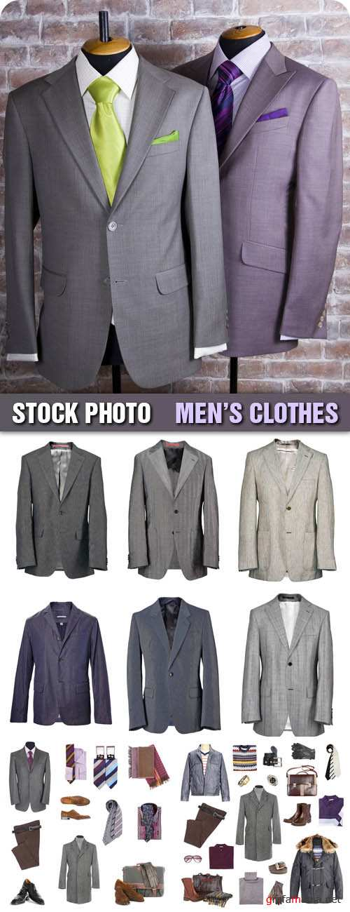 Stock Photo - Mens Clothes