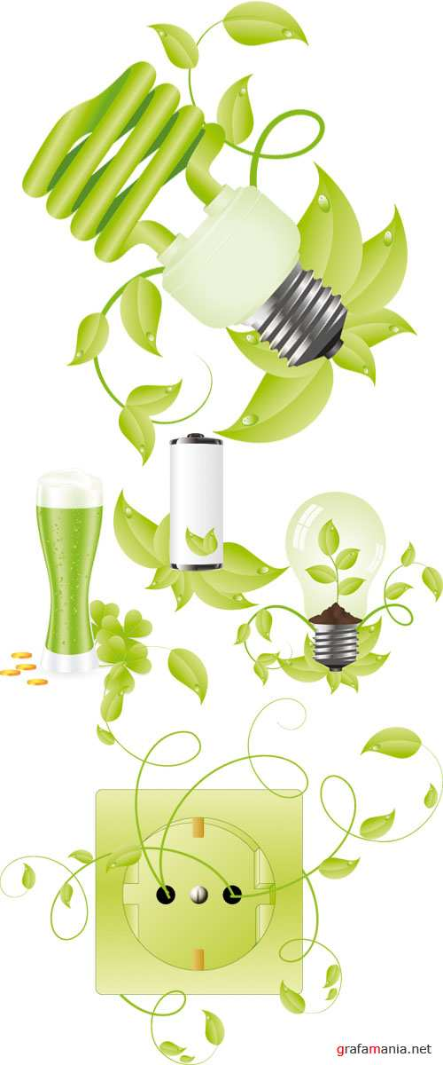 Stock Vector - Bio Elements