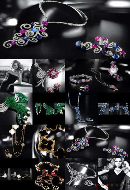 ������� � ��������� ��������� 23    Klipart � Jewelry embellishment 23