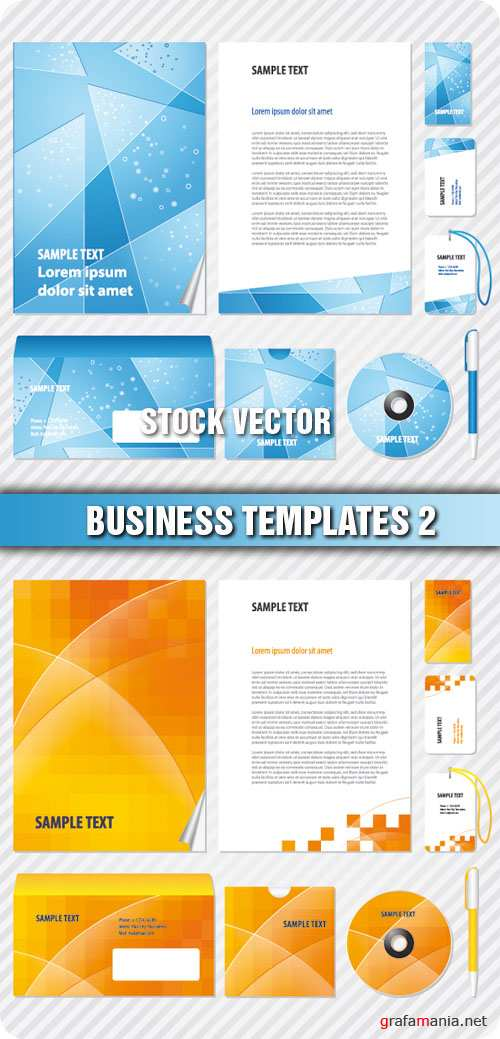 Stock Vector - Business Templates 2
