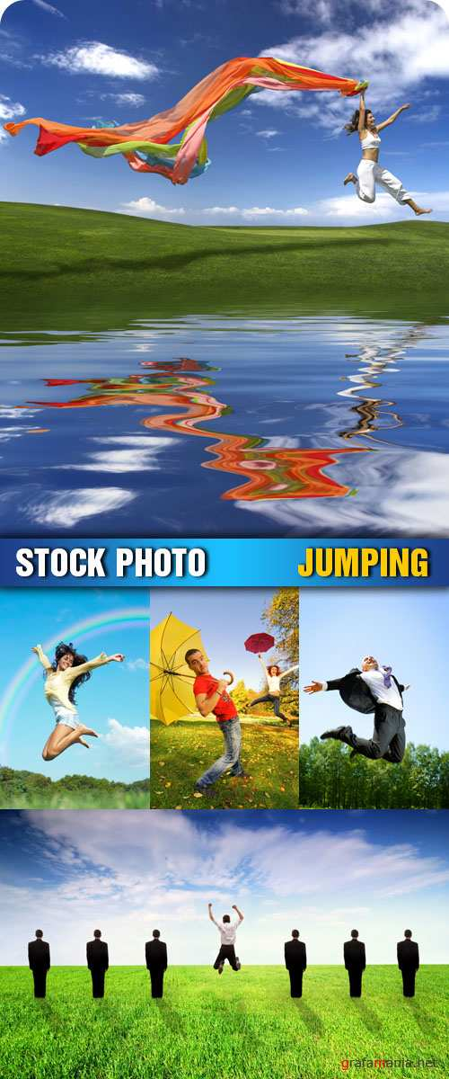 Stock Photo - Jumping
