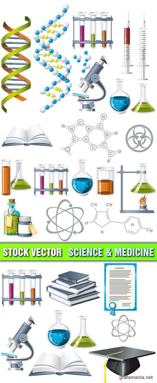 Stock Vector - Science and Medicine
