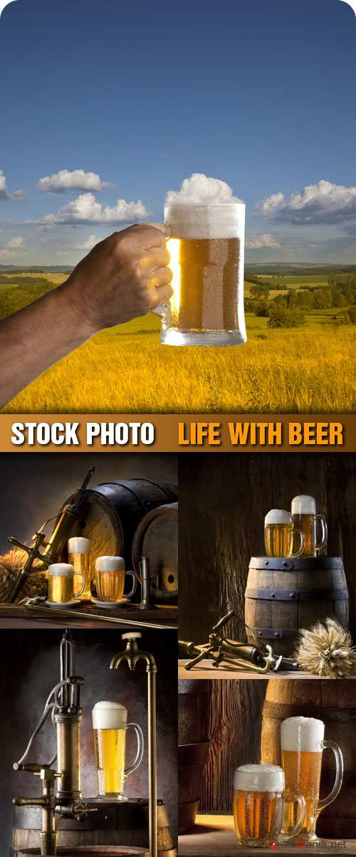Stock Photo - Life With Beer
