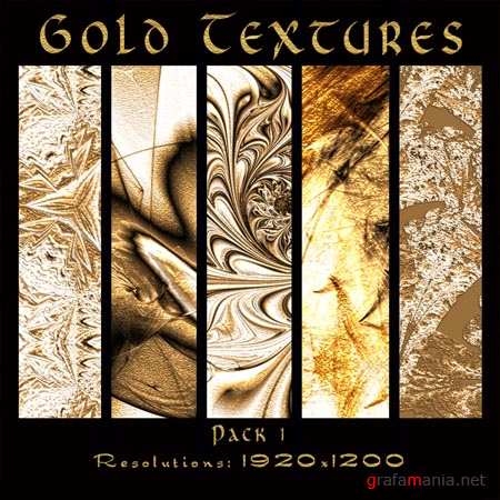Gold Textures Pack