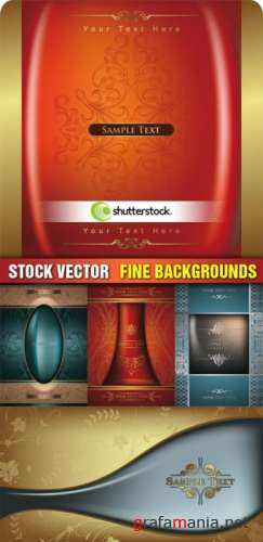 Vector Fine Backgrounds
