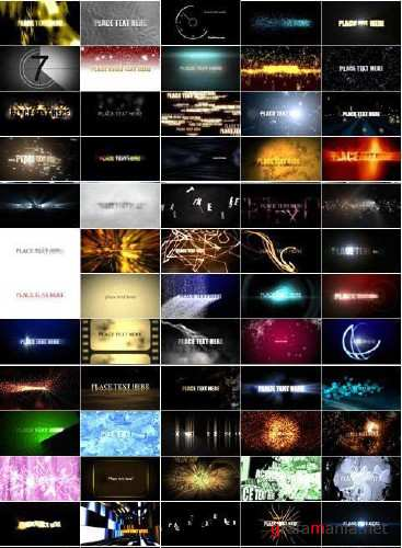 75 finished projects for After Effects