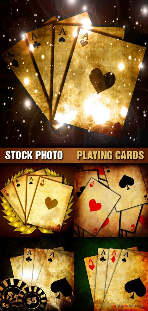 Stock Photo - Playing Cards