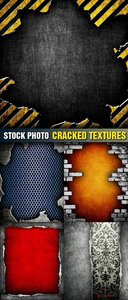 Stock Photo - Cracked Textures