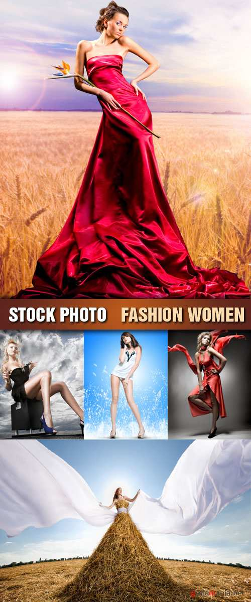 Stock Photo - Fashion Women