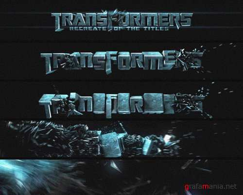 After effect project - Transformers Titles
