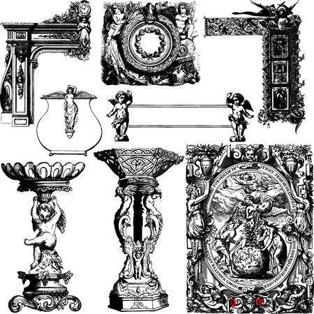 Antique Frames and Ornaments