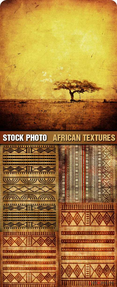 Stock Photo - African Textures