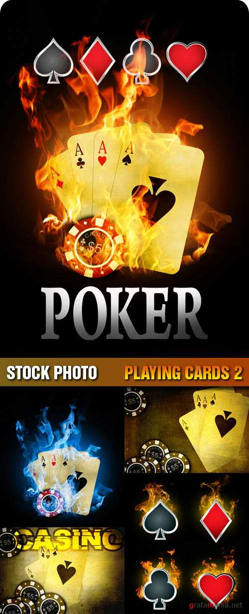 Stock Photo - Playing Cards 2
