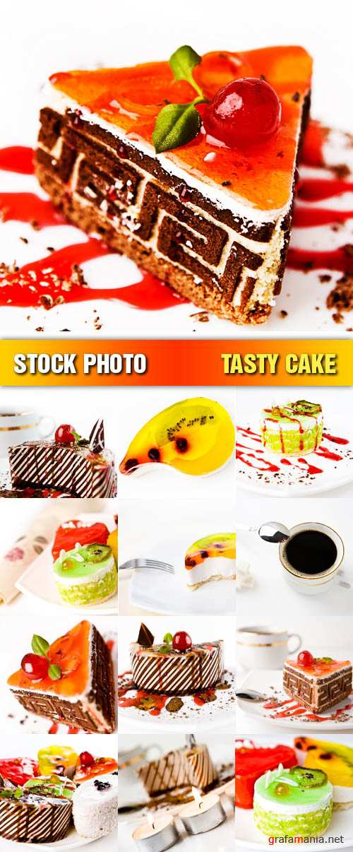 Stock Photo - Tasty Cake