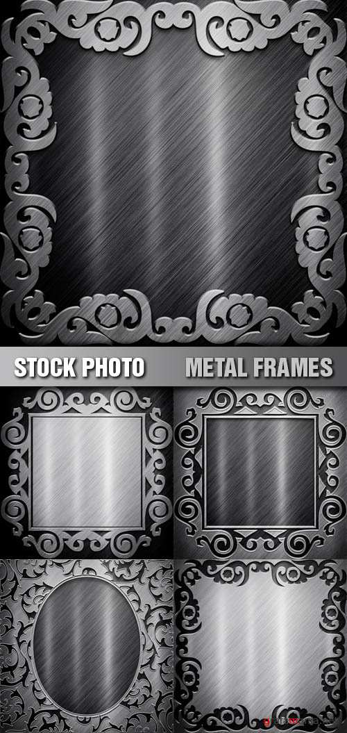 Stock Photo - Metal Frames