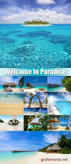 Stock Photo - Welcome to Paradise