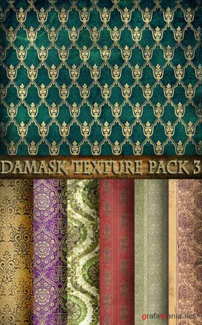 Damask texture pack 3