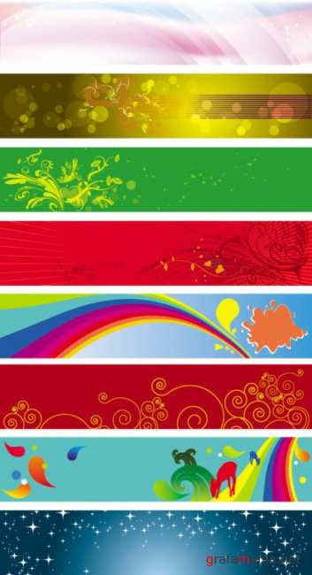 Stock Banners Vector