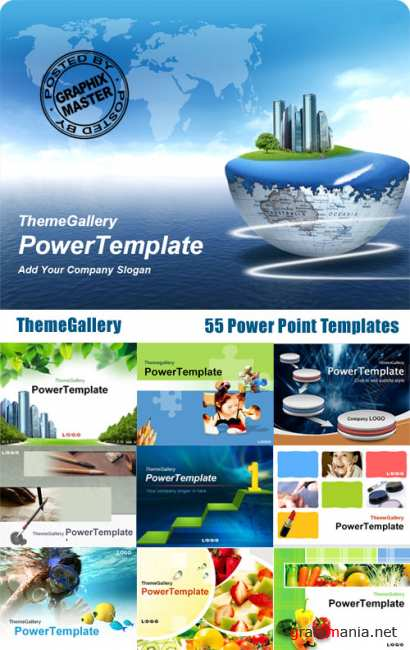 ThemeGallery PowerTemplate Collection