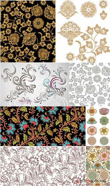 Decorative Ornament Vectors 6