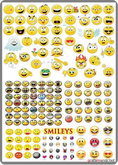 Smileys 6 set