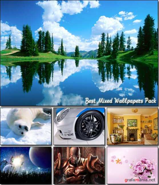 Best Mixed Wallpapers Pack (6) - ���� �� ������� ����