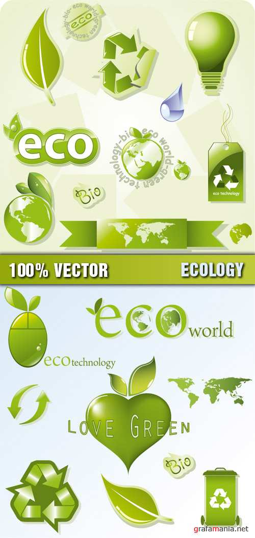 Stock Vector - Ecology