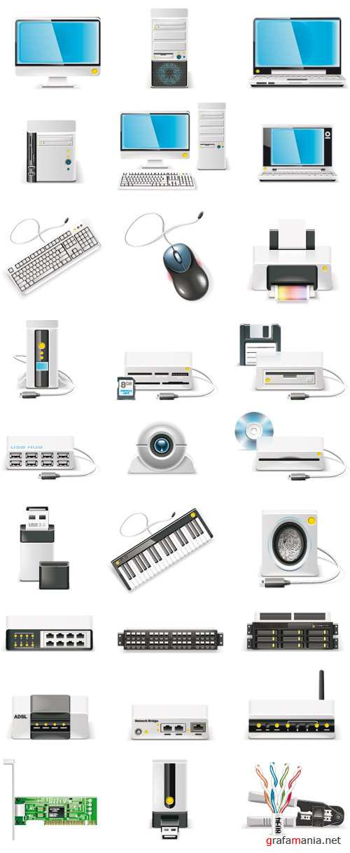 Stock Vector - Computer Icons