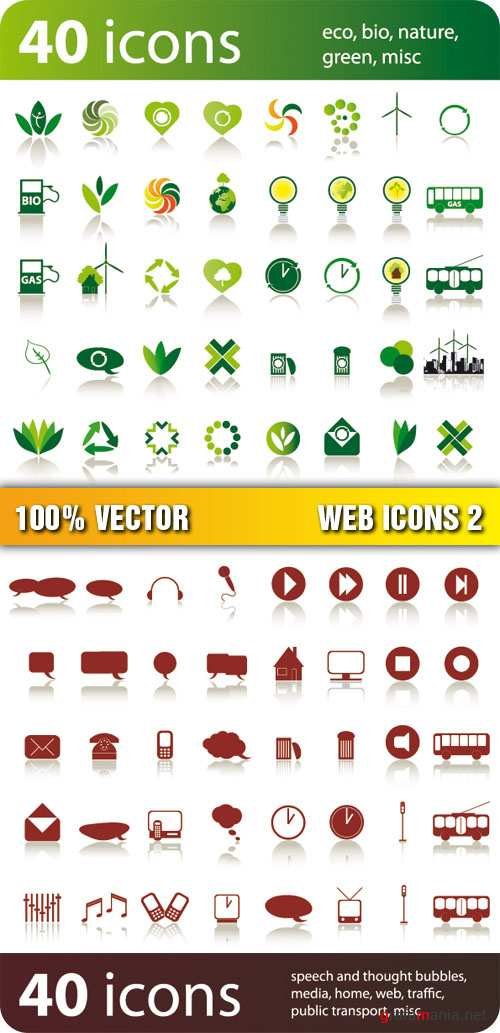Stock Vector - Web Icons 2