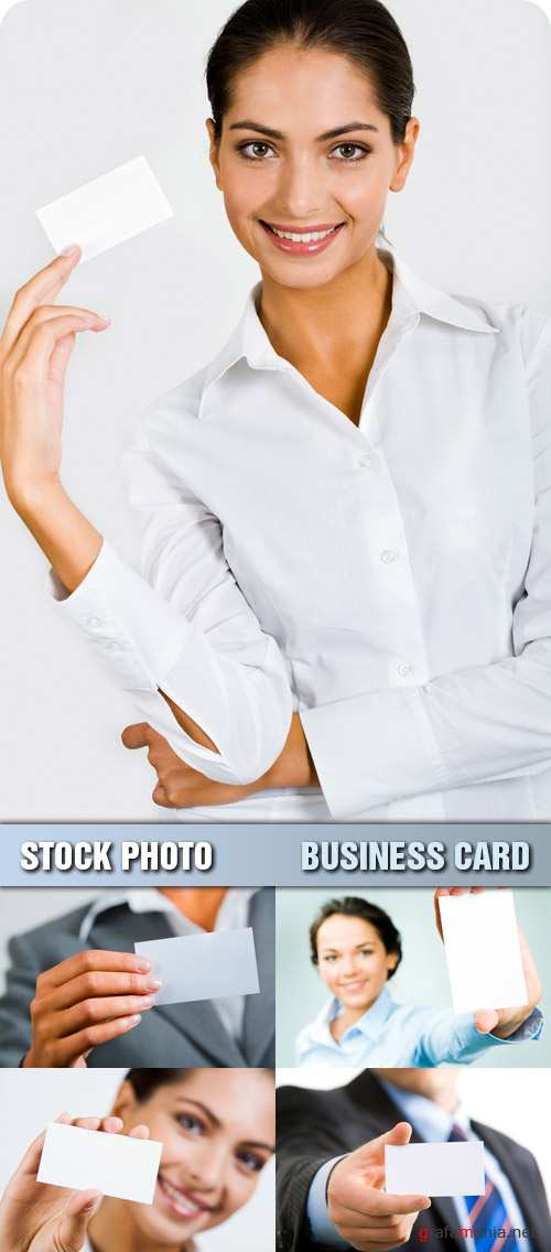 Stock Photo - Business Card