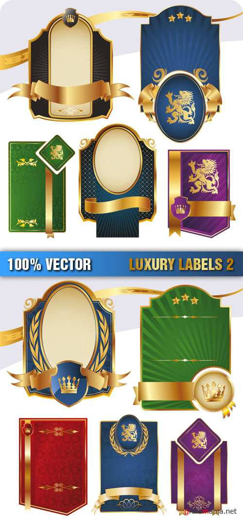 Stock Vector - Luxury Labels 2