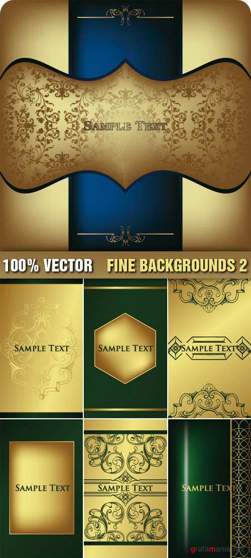 Stock Vector - Fine Backgrounds 2