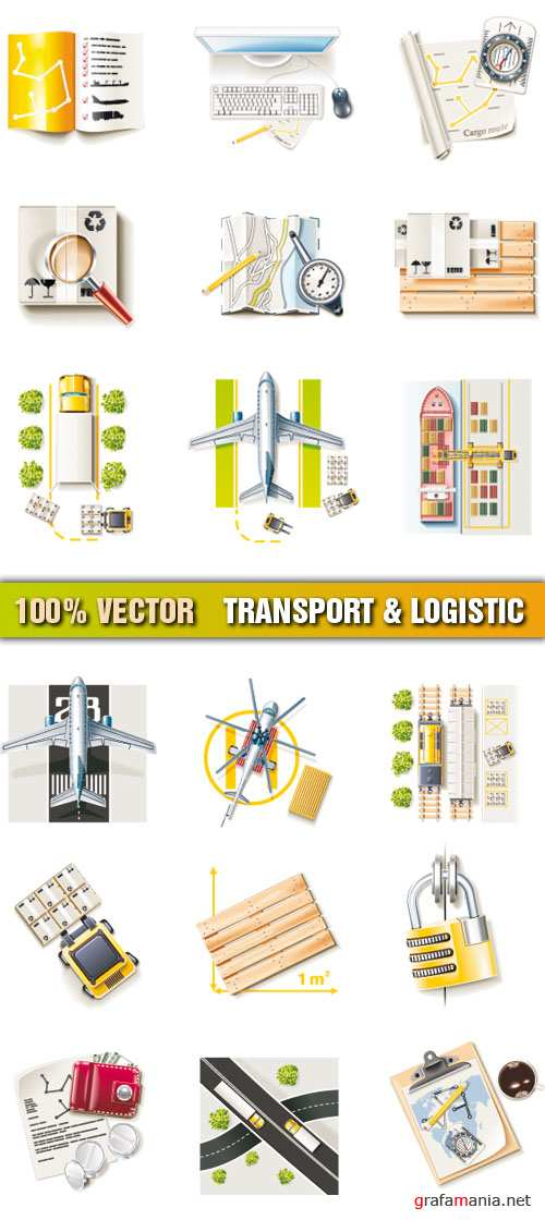Stock Vector - Transport & Logistic