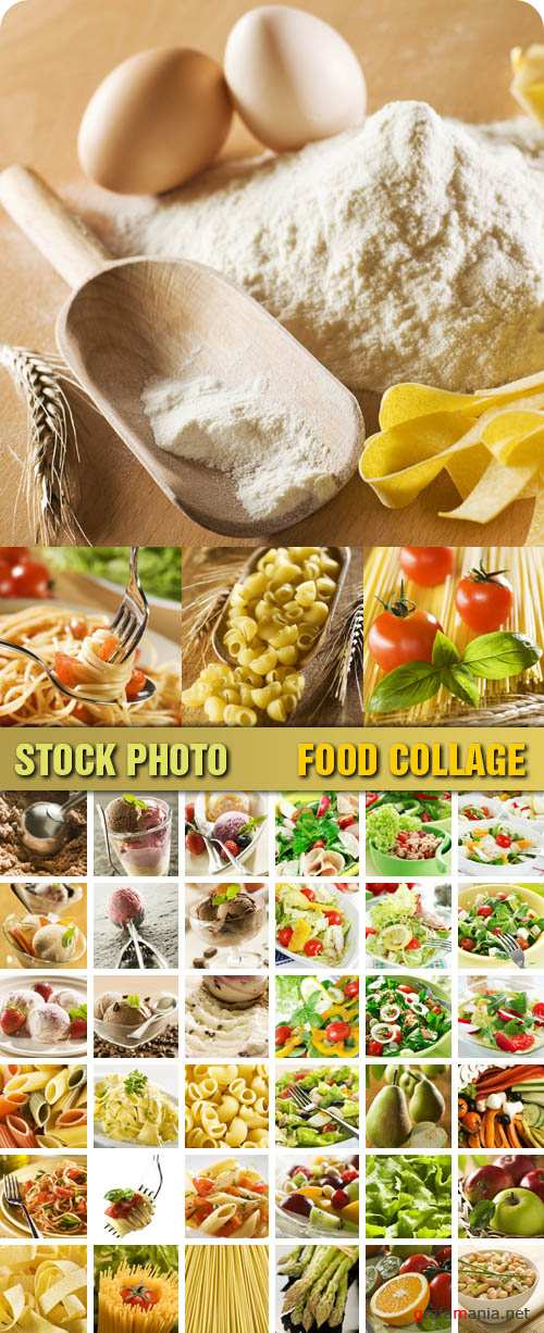 Stock Photo - Food Collage