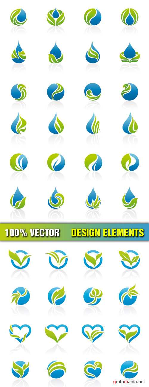 Stock Vector - Design Elements