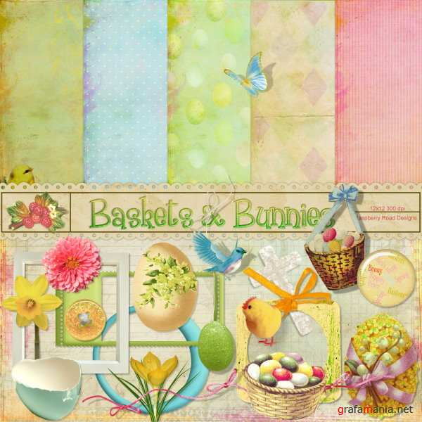 ���� �����-����� - Baskets And Bunnies