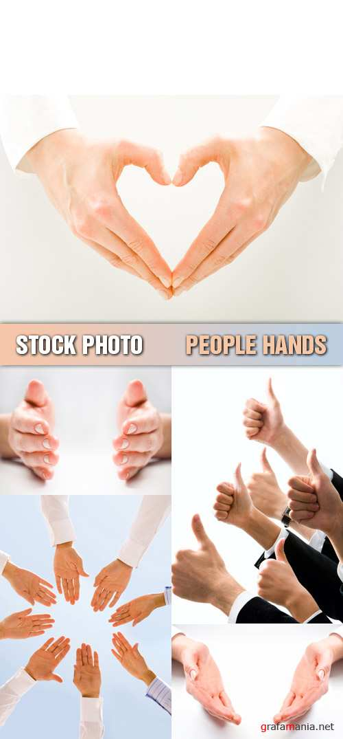 Stock Photo - People Hands