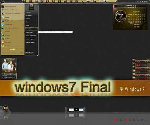 32 темы для Windows 7