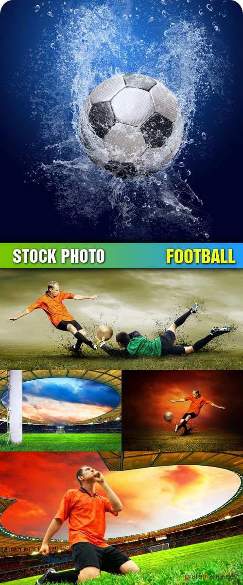 Stock Photo - Football