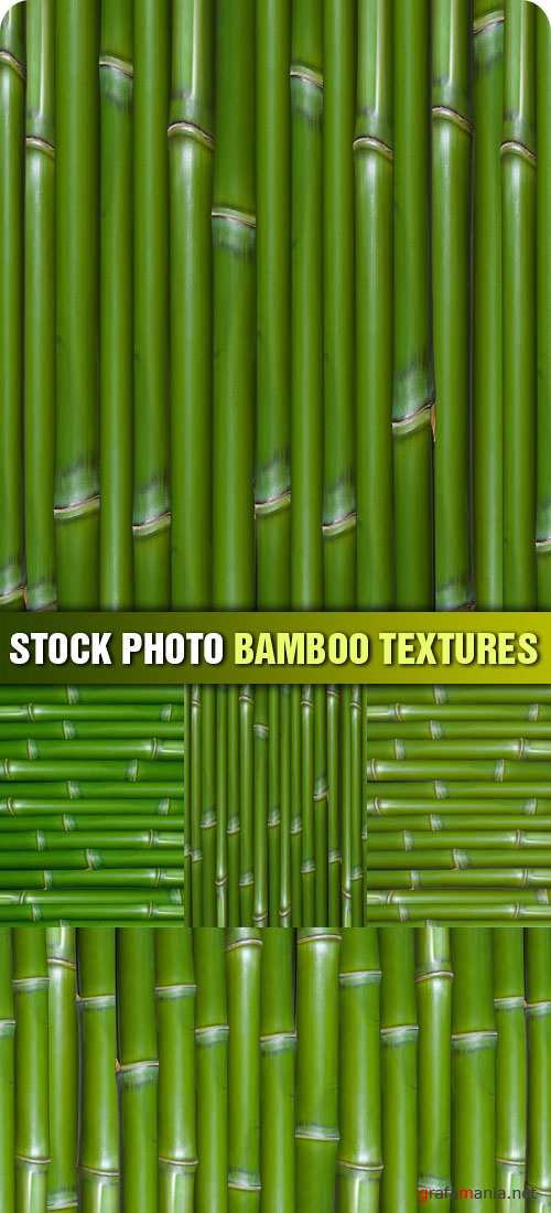 Stock Photo - Bamboo Textures