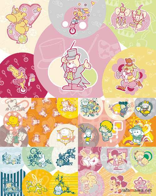 40 Beautiful Patterns for Kids Wallpapers