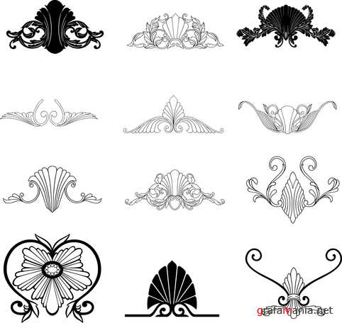 Vector clipart - Design elements 2