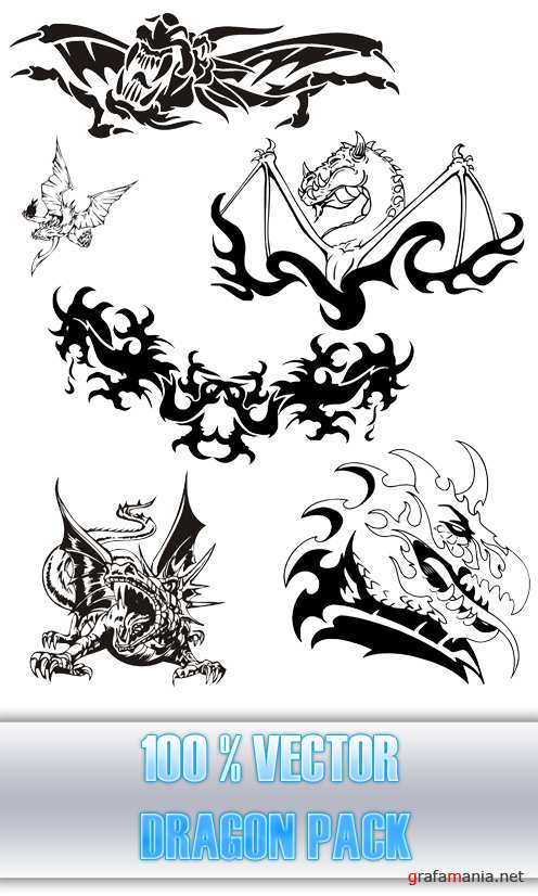 Vector Dragon Pack